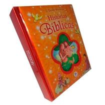 Livro Histórias Bíblicas 5 Lindas Histórias Edição De Luxo