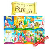 Coleção 8 Livros As Mais Belas Histórias Da Bíblia Jesus