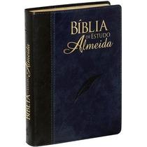 Bíblia De Estudo Almeida Grande Luxo Nova Edição 17x23