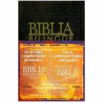 Bíblia Bilíngue Espanhol E Inglês - Preta