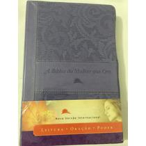 A Bíblia Da Mulher Que Ora - Nvi - Frete Grátis