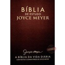 Bíblia De Estudo Joyce Meyer Nvi Letra Grande Café Ft Gratis