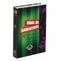 Bíblia Do Adolescente Aplicação Pessoal Média 20,5 X 13,5