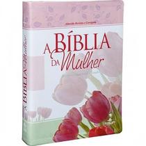 Bíblia De Estudo Da Mulher Grande 17x23,5 Revista Corrigida