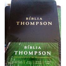 Bíblia De Estudo Thompson Almeida Contemporânea Luxo + Frete