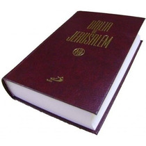 Bíblia De Jerusalém - Grande - Capa Dura - Frete Grátis