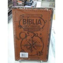 Biblia Das Descoberta Para Adoles Marrom