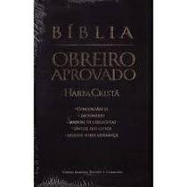 Bíblia Do Obreiro Aprovado - Cpad - Com Harpa - Média