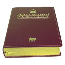 Bíblia Chronos Di Nelson Nt -expositiva Luxo - Frete Grátis