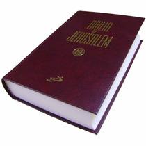 Bíblia De Jerusalém Tamanho Grande Capa Dura Luxo Ed Paulus