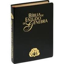 Bíblia De Estudo Genebra - Edição Luxo - Melhor Preço