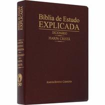 Bíblia De Estudo Explicada Dicionário, Harpa Cristã, Índice