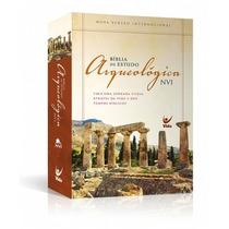 Bíblia De Estudo Arqueológica Nvi - Capa Dura Ilustrada