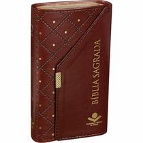 Bíblia Sagrada Feminina Carteira Evangélica Ouro
