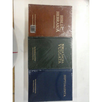 Bíblia Hebraica,vulgata E Septuaginta