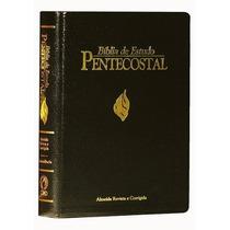 Bíblia De Estudo Pentecostal Luxo Grande Frete Grátis