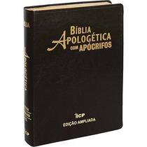 Bíblia De Estudo Apologética Com Apócrifos 3@ Edição Luxo