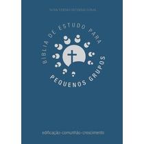 Bíblia De Estudo Para Pequenos Grupos Luxo Azul