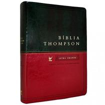 Bíblia Thompson Aec - Letra Grande - Bicolor Verde