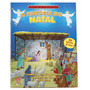 Livro Infantil Em Adesivos A História Do Natal - 3 A 7 Anos