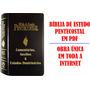 Bíblia De Estudo Pentecostal Em Pdf + Brindes (ver Imagens)