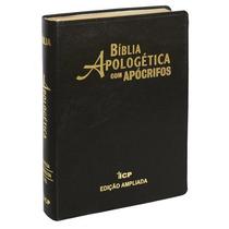 Bíblia De Estudo Apologética Com Apócrifos Capa Luxo 3@ Ed