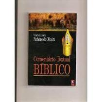 Comentário Textual Bíblico Hebraico E Português (livro).