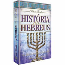 Livro História Dos Hebreus Flávio Josefo Editora Cpad
