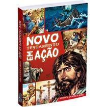 Kit 10 Livros Novo Testamento Em Ação - Bíblia Em Quadrinhos
