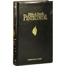 Bíblia De Estudo Pentecostal Média Luxo Frete Grátis