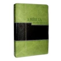 Bíblia Em Ordem Cronológica - Verde Preta