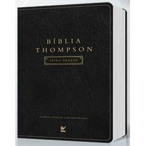 Bíblia De Estudo Thompson Letra Grande Frete Grátis