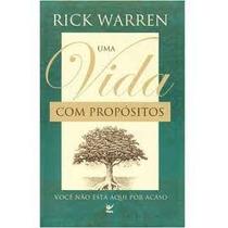 Um Vida Com Propósitos Rick Warren Frete Grátis!