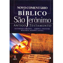 Novo Comentário Bíblico São Jerônimo Do Antigo Testamento