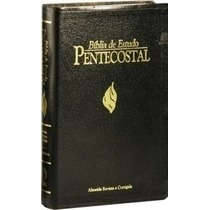 Bíblia De Estudo Pentecostal Média Luxo Cpad