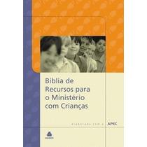 Bíblia De Recursos Para Ministério Com Crianças - Capa Dura