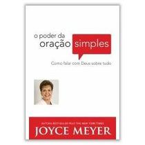 M12 Livro - O Poder Da Oração Simples - Joyce Meyer