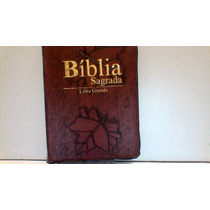 Bíblia Sagrada C\ziper E Índice Letra Grande Marrom
