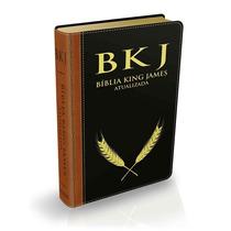 Bíblia De Estudo King James Atualizada Luxo Letra Grande
