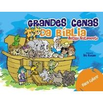 Kit Com 6 Livros Grandes Cenas Da Bíblia - Vt - P/ Colorir
