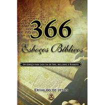 Livro 366 Esboços Bíblicos Edição Atualizada Frete Grátis