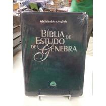 Bíblia De Estudo Genebra 129,90