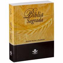 Bíblia Sagrada Pequena Revista E Atualizada Ra 9,5 X 12,5 Cm