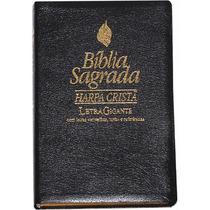 Bíblia Sagrada Harpa Cristã Letra Gigante Letras Vermelhas