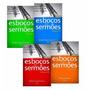 Livros Esboços De Sermões 4 Volumes - Ad Santos