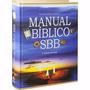 Livro Manual Bíblico Sbb Pronta Entrega Frete Grátis