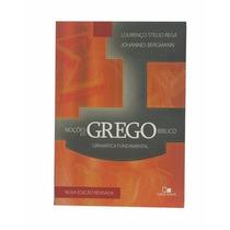 Noções Do Grego Bíblico + Dicionário Da Biblia De Almeida