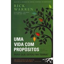 Livro Uma Vida Com Propósitos Edição Expandida Rick Wa