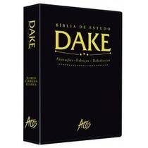 Bíblia De Estudo Dake - Preta Clássica