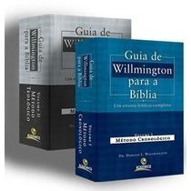 Guia De Willmington 2 Vol + Bíblia De Estudo Leitura Diária